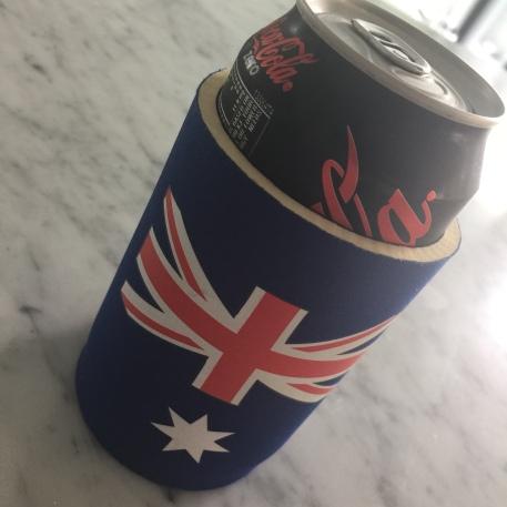 Stubbie with coke zero ;)