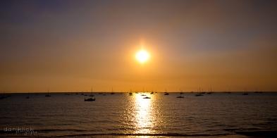 Sunset and Mindil Beach