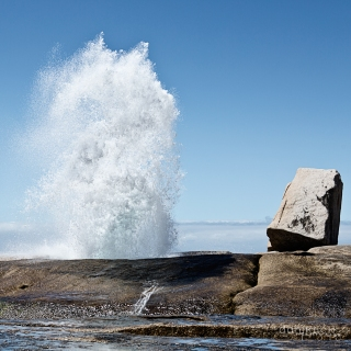 Blowhole in Bicheno