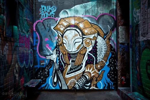 Melbourne Laneway Art